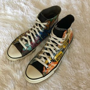 Unisex Mars Invasion Converse All Stars